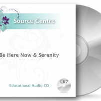 CD7 – Be Here Now & Serenity